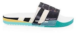 Adidas By Raf Simons Men's Samba Adilette Rubber Slides Sandals