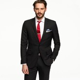J.Crew Aldridge two-button suit jacket with center vent in Italian wool