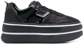 Hogan Platform Low-Top Sneakers