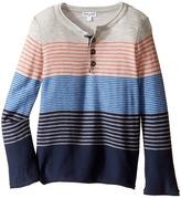 Splendid Littles Yarn-Dye Stripe Sweater Knit Top (Toddler)