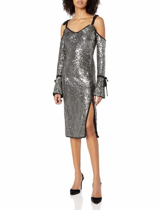Rachel Roy Women's Sequin Bell Sleeve Dress