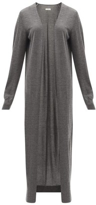 The Row Bayo Cashmere-blend Cardigan - Dark Grey