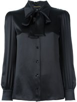Saint Laurent pussybow blouse - women - Silk - 36