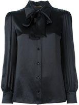 Saint Laurent pussybow blouse