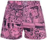 Lousy Livin Underwear Demo Boxer Shorts Rose