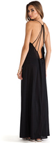 Issa de' mar St. Bart's Maxi Dress in Black. - size S (also in XS)