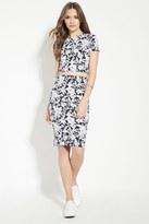 Forever 21 FOREVER 21+ Contemporary Floral Print Skirt