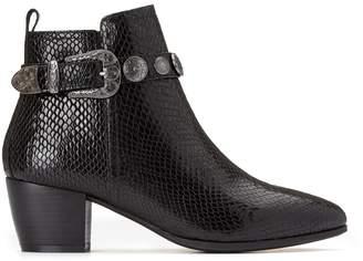Jonak Evana Snake Print Boots