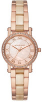 Michael Kors Petite Norie Rose Gold And Ca