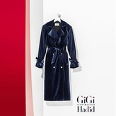 Tommy Hilfiger Gigi Hadid Velvet Trench Coat