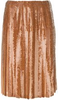 Emilio Pucci sequined pleated skirt