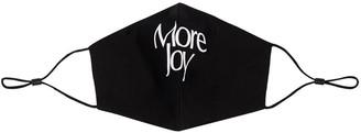 More Joy Logo Print Face Mask