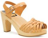 Swedish Hasbeens Braided Platform Sandals