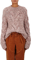 Ulla Johnson Women's Francisca Baby Alpaca Sweater-PINK