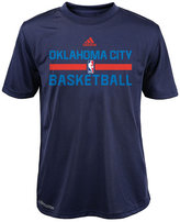 adidas Boys' Oklahoma City Thunder Practice Wear Graphic T-Shirt