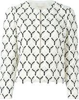 Giambattista Valli embroidered jacket - women - Cotton/Viscose/Silk - 44