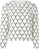 Giambattista Valli embroidered jacket - women - Silk/Cotton/Viscose - 44