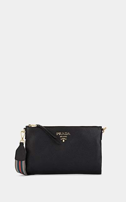 b451ac1dc7464a Prada Black Shoulder Bags - ShopStyle