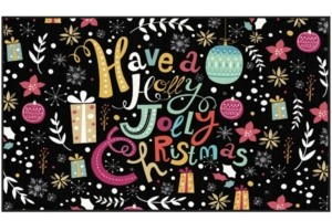 """Mohawk Jolly Christmas Accent Rug, 24"""" x 40"""" Bedding"""