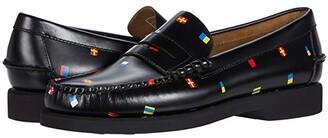 Sebago Dan Polaris Flags (Black Flags) Men's Shoes