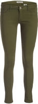 Couture Miss Kitty Women's Denim Pants and Jeans Olive - Olive Low-Rise Skinny Jeans - Juniors