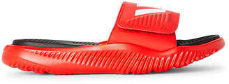 adidas Active Red & White Alphabounce Basketball Slide Sandals