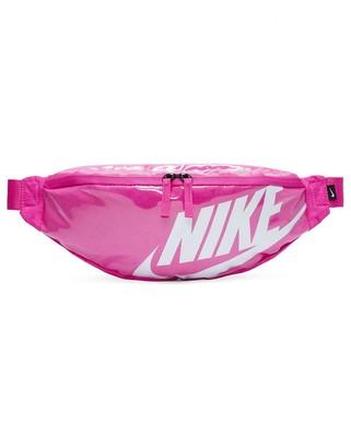 Nike Heritage bum bag in hot pink