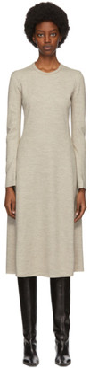 Rag & Bone Beige Wool Yan Mid-Length Dress