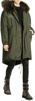 AS65 Parka Coat with Fur Lining