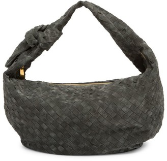 Bottega Veneta Small Jodie Suede Hobo Bag