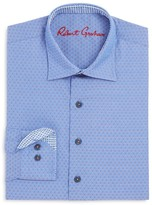 Robert Graham Boys' Dot Print Dress Shirt - Sizes S-XL