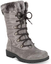 Bare Traps Satin Lace-Up Cold-Weather Boots Women's Shoes