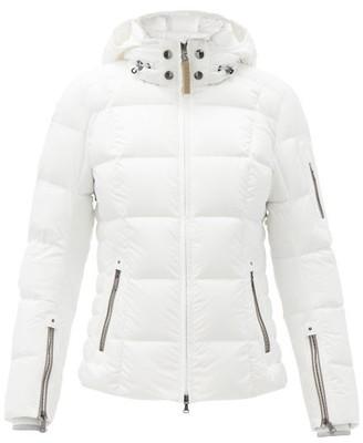 Bogner Coro-d Hooded Quilted Down Ski Jacket - White