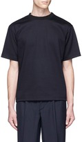 Kolor Rib neck cotton T-shirt
