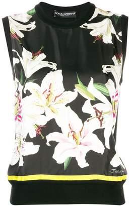 Dolce & Gabbana Floral Print Knit