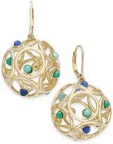 Kate Spade 14k Gold-Plated Openwork Beaded Sphere Drop Earrings
