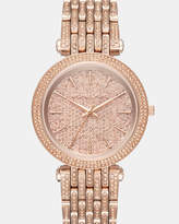 Michael Kors Darci Rose Gold-Tone Analogue Watch