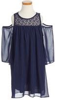 Soprano Cold Shoulder Dress (Little Girls)
