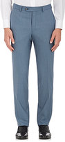 Barneys New York MEN'S KALE STRETCH-WOOL TROUSERS