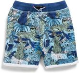 Little Marc Jacobs Boys Printed Fleece Shorts (4-10Y)