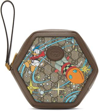 Gucci Multicolor Disney Edition GG Donald Duck Rocket Coin Pouch