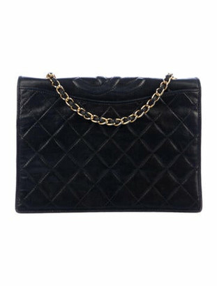 Chanel Vintage CC Flap Bag Black