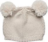 San Diego Hat Company Children's Knit Cap with Two Pom Pom Ears KNK3523