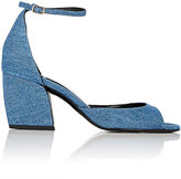 Pierre Hardy Women's Calamity Ankle-Strap Sandals-LIGHT BLUE
