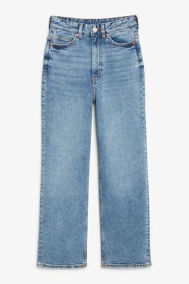 Monki Zami blue jeans
