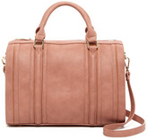 Urban Expressions Vegan Leather Dome Satchel