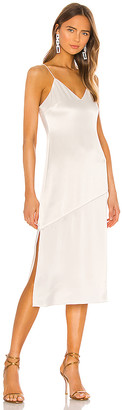 Alice + Olivia Kayla Seamed Slip Dress