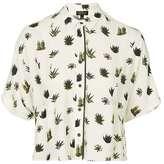 Petite cactus pyjama style shirt