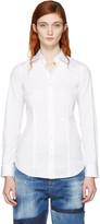 DSQUARED2 White Classic Poplin Shirt