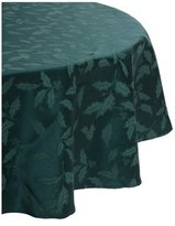 Lenox Holly Damask 70-Inch Round Tablecloth